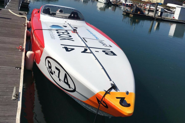 Boffix Power Racing Boat